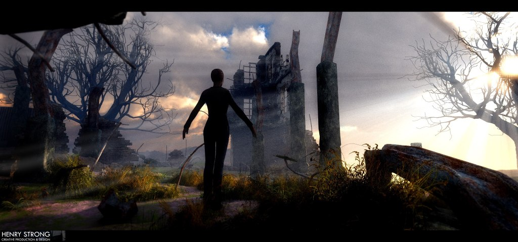 Standing In The Ruins