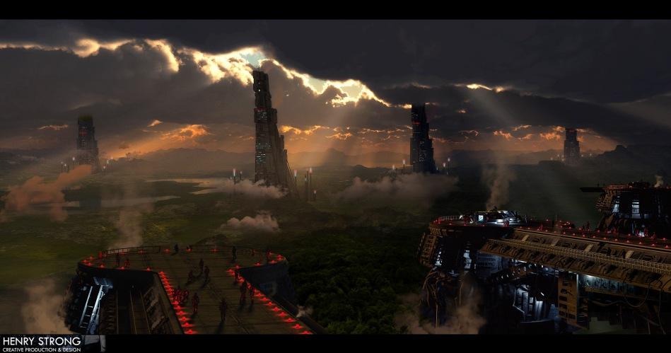 Distant citadels