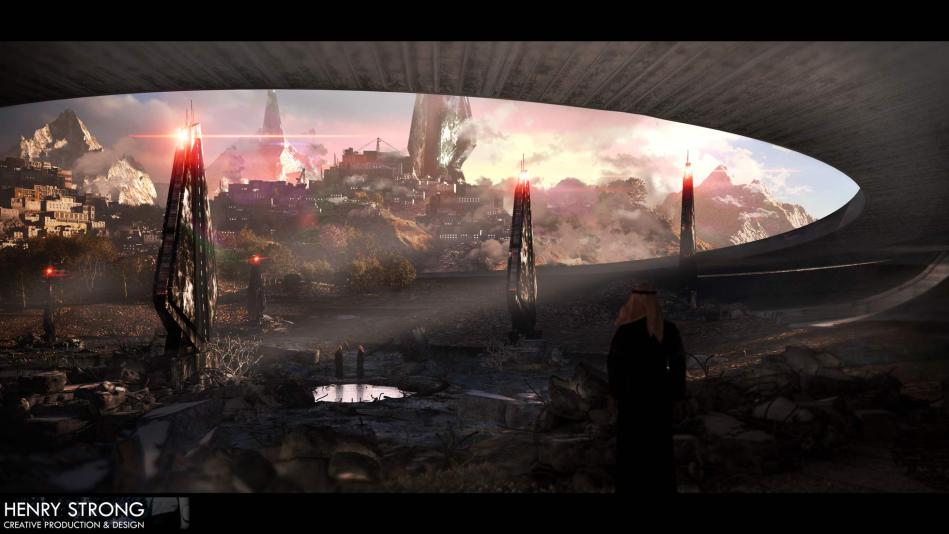 Concept V2  3 day build in 3DS Max + rendered through with Vray  Original 2D concept paint by Jan Urschel 3 check out his amazing work here:http://janurschel.deviantart.com/
