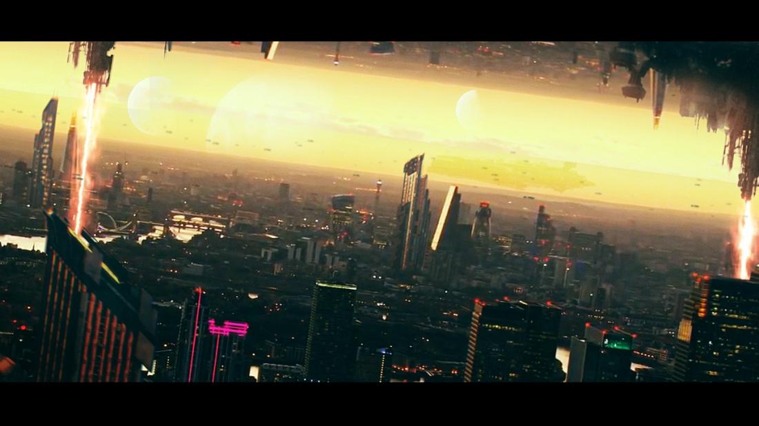 Cityscape - Scifi City